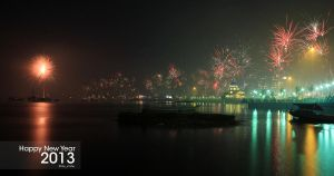 end of 2012 (Happy New Year 2013) by thevikho
