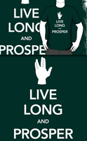 Live Long and Prosper (Redbubble) by armageddon