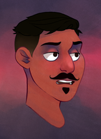 All aboard the Dorian Pavus hype train toot toot by Rosslaye