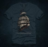 the cold harbour - shirtdesign by artcoreillustrations