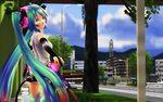 MMD Miku Walk by Trackdancer