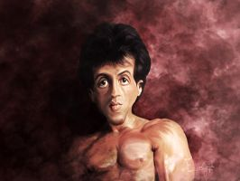Rocky Caricature painting by EpsylonGraph