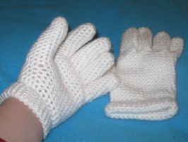Crochet Gloves by Milayou