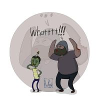 Tyreese got bit by a kid by HuzRedy