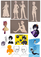 Homestuck Dump 4 by Kuripu