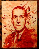 Howard Phillip Lovecraft by PriestofTerror
