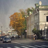 Moscow Street by Siilin