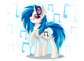 Vinyl Scratch :: I'm Cool by Pauuh