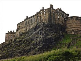 Edinburgh Castle by 1ofakindX