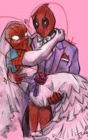 spideypool by bliivet