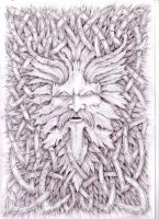 Celtic Greenman Spirit 2006 by Ash-Harrison