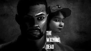 The Last Of Us Walking Dead Style Wallpaper by XHaloMMDArtX