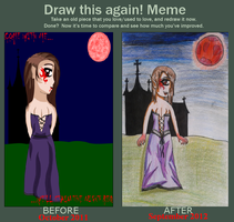 Draw This Again Contest Entry by MissDarkAngel167