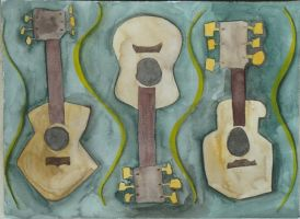 Tres guitarras by sticmann