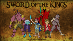 Sword of the Kings by AnutDraws