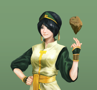 Toph / Comics costume by Louie-Oh