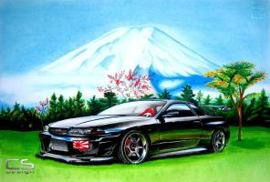 Nissan Skyline R32 GTR Japan by CSDesignRD