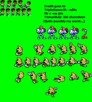 SEGA Characters 2X sprites pt 1 by triplesonicX