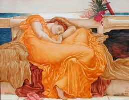 Flaming June by catchalongtail