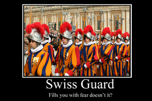Swiss Guard demotivator by Party9999999