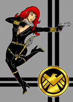 Black Widow by Flash-of-Lingt