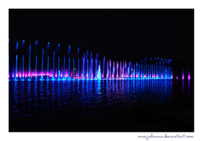 fountain of light by Julanna