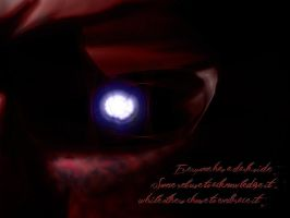 Everyone has a Dark Side. by ImpaledGraphix