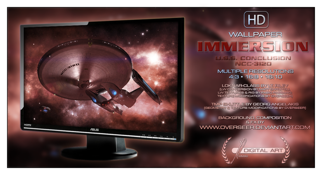 'Immersion' WALLPAPER by overseer