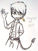 Hayner~ by SquishyHattress