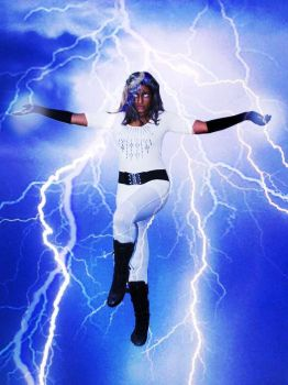 Prenessa as Storm 1 by apollocreed23