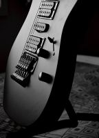 New Ibanez by acrossXuniverse