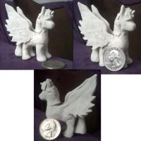 Pony Sculpture - VERY OLD by ChelseaCatStudios