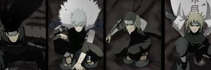 Edo Tensei Hokages by Advance996