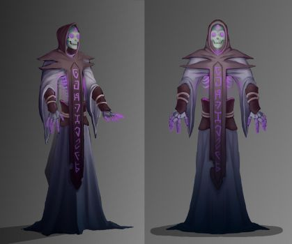 Skeleton Mage by Corrupted-Mooch