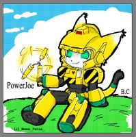 Brave Police:- Chibi PowerJoe by BloodyChaser