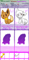 PMD-E - Crimson Eyed Caucus - Application Sheet by WackyTwillight