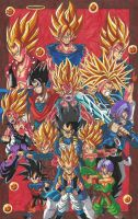 Dragon Ball Z: You can't handle this Power Level! by d13mon-studios