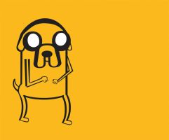 JAKE THE DOG by xxmochaxchocoxpeanut