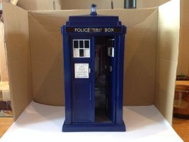 TDOTD Tardis by Thedoctor0011