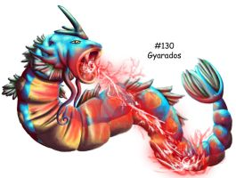 Gyarados is awesome by GrayWolfShadow