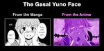 Gasai Yuno face comparison by ABwingz