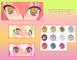 MMD: Colourful Eyes by cure-capsule