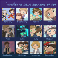 2014 Summary of Art by ArcherVale