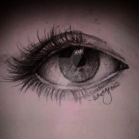 Eye Sketch by CatnipTheNinja