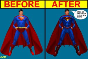 Superman: Then And Now by The-Mind-Controller