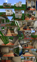 Inside my Minecraft House Part 1 by RavenFeather207