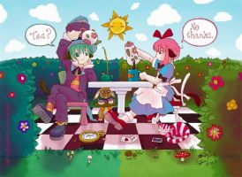 Tea-time in Alice's Dominion by norinoko