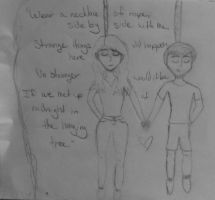 The Hanging Tree (Sketch) by Seriridescence