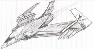 Ground Strike Fighter by DissidentZombie