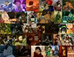 ATLA Hugs Collage by JackieStarSister